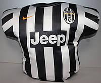 Подушка сувенирная в виде футболки FC JUVENTUS