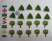 Магнитная математика Деревья и Ёлочки