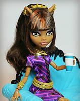 Кафе Monster High из серии Coffin Bean и кукла Клодин Вульф (Clawdeen Wolf) Монстр Хай