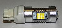 Автомобильный светодиод W21W (21-SMD)(3535)(Белый)