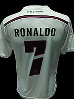 Футболка футбольная Ronaldo с номером (Real Madrid) Турция
