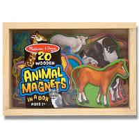 Розвивающая игрушка Melissa&Doug Фигурки животных с магнитами (MD475)
