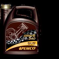 Синтетическое моторное масло Pemco iDrive340 SAE 5W-40 API SL/CF 4L.