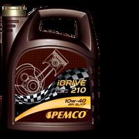 Полусинтетическое моторное масло Pemco iDrive210 SAE 10W-40 API SL/CF 4L.