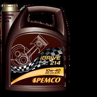 Полусинтетическое дизельное масло Pemco iDrive214 SAE 10W-40 API CH-4 5L.