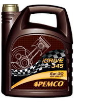 Синтетическое дизельное моторное масло SAE 5W-30; API SM/CF; Pemco iDrive345 5L