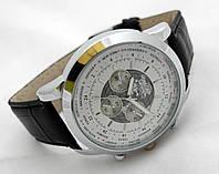 Мужские часы BREITLING 1884 кварцевые, корпус серебристый