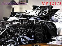 Постельное белье, евро комплект, ранфорс, Вилюта (VILUTA) VР 12173