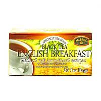 Чай черный в пакетиках Mabroc Английский завтрак 25шт