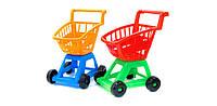 """Детская тележка с корзиной """"Супермаркет"""" 693 Орион"""