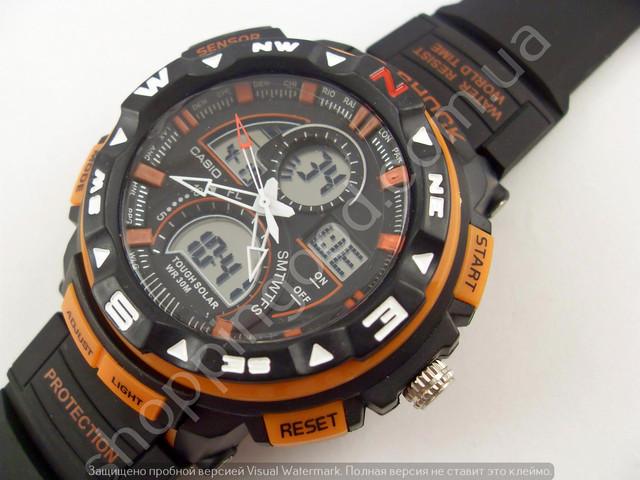 Casio G-Shock - Противоударные мужские часы Джи