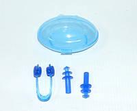 Зажим для носа и беруши  (набор для плавания BZ-1)