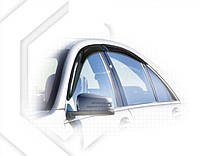 Дефлекторы окон Mercedes Benz S-klasse (W221) 2005-2013 | Ветровики  Мерседес-Бенц С-класс