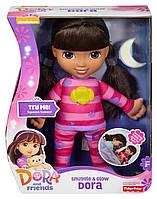 Кукла Даша для сна, музыка, свет. Snuggle and Glow Dora, Fisher-Price