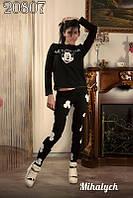 """Стильный женский спортивный костюм тройка  """"Микки маус"""" мод 208"""