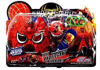 Маска и набор спайдермен Человек Паук
