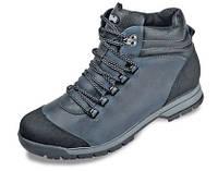 Мужские ботинки зимние МИДА 14744 из натуральной кожи на цигейке .