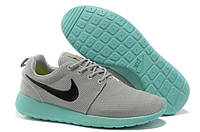 Кроссовки мужские беговые Nike Roshe Run (найк роше ран, оригинал) серые