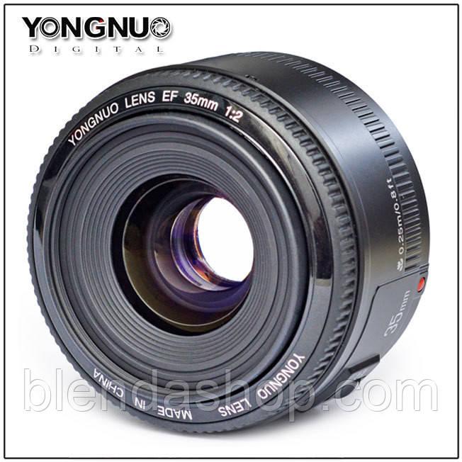 Объектив Canon EF 35 mm f/2 - 35photo - world
