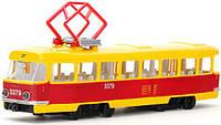 Модель Технопарк Городской Трамвай со светом и звуком