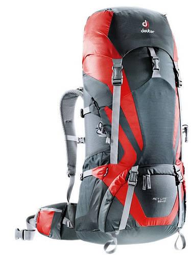 Туристический рюкзак DEUTER ACT LITE 65+10, 4340115 4560 серый