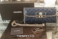 Клатч-сумка женская Chanel, кожа, Франция