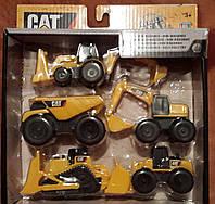 Мини-набор строительной техники CAT от  TOY STATE