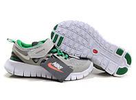 Кроссовки детские Nike Free Run Kids (найк фри ран кидс, оригинал) серые
