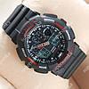 Часы наручные спортивные Casio GA-100 Black-red/Black 612