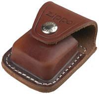 Чехол коричневый  с клипсой LPCB, 17020