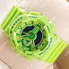 Необычные наручные часы Casio GA-110 Light green/Green 622