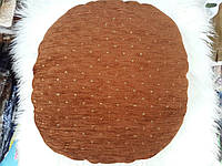 Чехлы на табуретки упаковка 4шт + поролон 33х33 №32