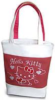 """Женская сумка - """"Hello Kitty"""" ( комбинированные ткани ) К 02"""