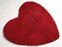 Коврик для ванной 70х70 IRYA LOVELY красное сердце