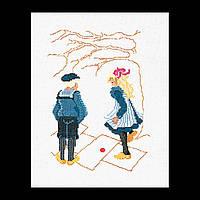 Набор для вышивки крестом 883 Игра в классики, Play Hop-Scotch  (Теа Гувернер)