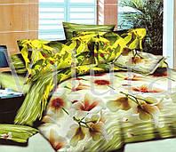 Полуторный комплект постельного белья ранфорс Вилюта 9984