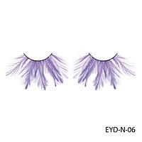 Ресницы декоративные накладные Lady Victory EYD-N-06 из натуральных перьев