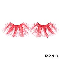 Ресницы декоративные накладные Lady Victory EYD-N-11 из натуральных перьев