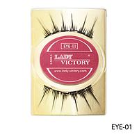 Ресницы декоративные накладные Lady Victory на половину века EYE-01