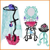 Душ и туалетный столик Monster High Лагуны Блю (Lagoona Blue) Монстр Хай