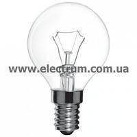 "Лампа накаливания ""Electrum"" шар G45 60W E14"