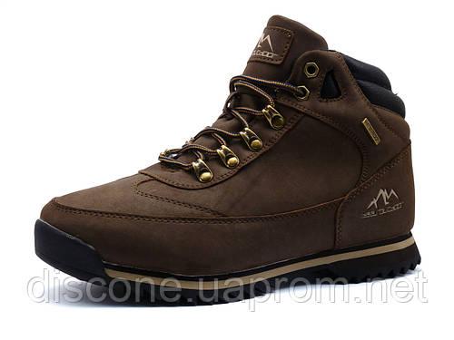 Зимние ботинки мужские BaaS Outdoor, коричневые, на меху