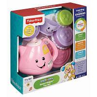 Развивающая игрушка Fisher-Price набор для чаепития с технологией Smart Stages (CJW59)