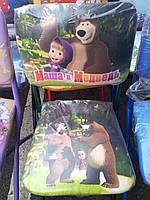 """Дет.раскладной стульчик """"Маша и медведь"""""""