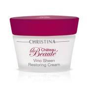 Восстанавливающий крем  на основе экстрактов винограда Christina Chateau de Beaute Vino Sheen Restoring Cream