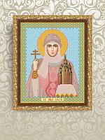 Схема для вышивки бисером VIA4017 Святая Равноапостальная Княгиня Ольга