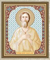 Схема для вышивки бисером VIA4104 Преподобный Алексей Человек Божий