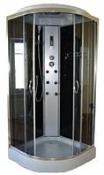 Гидромассажный( душевой) бокс Vivia Eko-62 с электронной панелью управления и мелким поддоном, 100х100х215