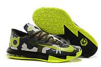 Кроссовки мужские Nike KD 6 Camo (найк, оригинал)