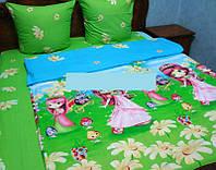 Детское постельное белье для девочки, ранфорс